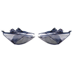 Fits 2000 2002 Ford Focus Headlight Pair Side Capa