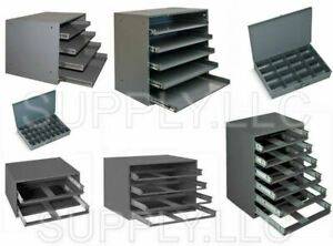 Metal Drawers Large Trays Storage Compartment Parts Fitting Nuts Bolts Garage