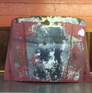 Triumph Tr3 Original Front Hood Bonnet Assembly For Parts T1737