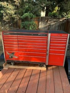 Snap On Tool Box With Mostly Snap On Tools