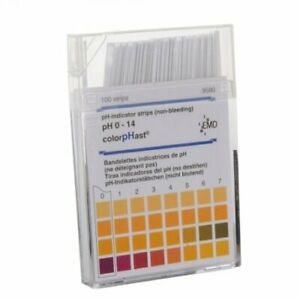 Seoh Colorphast 9590 3 Test Strips 0 14 Ph Box Of 100