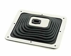 Super Shifter Boot Mr Gasket 9649 Large 9 X 8 With Chrome Trim New