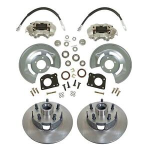 1964 73 Ford Mustang Front Disc Brake Conversion Kit Drum disc 11 Rotors