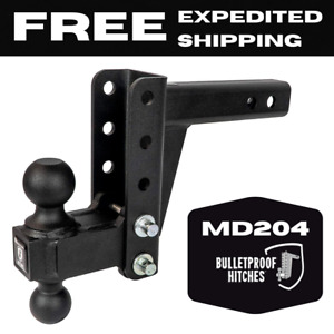 Bulletproof Hitches 2 Adjustable Medium Duty 4 Drop Or Rise Trailer Hitch