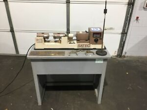Satec Instron R r Moore Rotating Beam Fatigue Testing System Iso 1143 Astm F1160