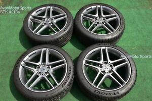18 Mercedes Benz Cla45 Amg Cla250 Factory Oem Wheels Michelin Tires 1764010000