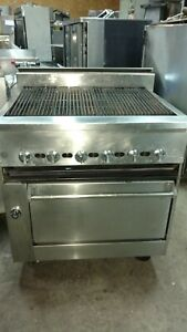 Jade Range 36 Char Broiler With Full Size Oven