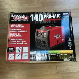 Lincoln Electric 140 Pro Mig Flux Corded Wire Feed Welder K2480 1 New