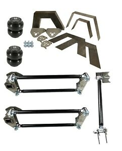Rear Universal Weld On Kit 8 Frame Notch Parallel 4 Link Slam Ss 6 Air Bags