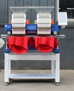 Commercial Embroidery Machine New Two 2 Head 15 Needles New Style 2020