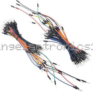 2pcs Male To Male 65pcs Solderless Breadboard Jumper Cable Wires For Arduino