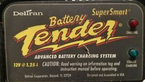 Deltran Battery Tender Super Smart 12v 1 25 Amp For Parts Only Or Fix