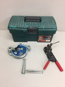 Imperial Universal Gear type Tube Bender No 270 f 06 W Tool Box