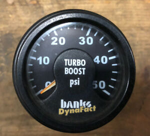 Banks Dynafact Boost Gauge Turbo Diesel Dodge Ford Chevy 2 1 16