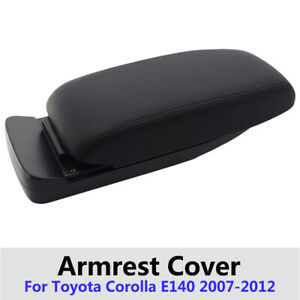 For Toyota Corolla E140 Center Console Armrest Cover Parts Pad 2007 2012