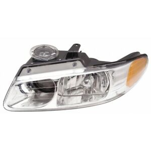 Fits 2000 Chrysler Town Country Headlight Driver Side Ch2502133