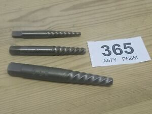 Stud Extractors Dormer No 3 4 5 Set Of 3 Snapped Of Bolt Remover Tool