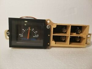 1988 Dodge Shelby Csx T Boost Gauge Parting Turbo Csx Shadow 1987