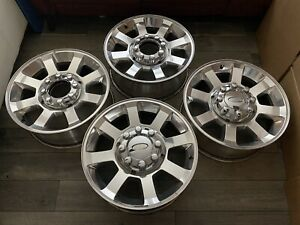 Ford F250 F350 Super Duty 2017 2018 2019 20 Oem Wheels Rims Full Set 2016 2105
