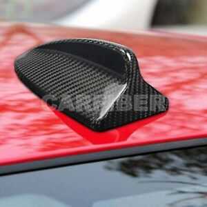 Carbon Fiber Car Roof Shark Fin Antenna Cover For Bmw X3 X5 X6 E70 E71 F25 F07
