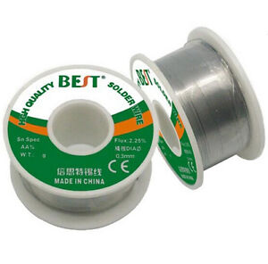 Low Melting Point Leaded Welding Wire Solder Wire 0 3mm 100g
