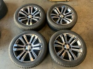 2018 Chevy Silverado Factory 22 Wheels Tires Oem 5822 1500 Escalade Tahoe Sierra