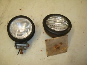 1963 Case 831 Tractor Lights 830