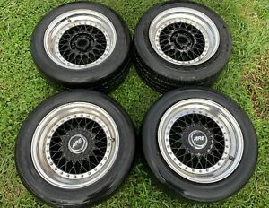 Are 398 2 Piece Wheels 16in 5x4 75 5x120 Bbs Rs Jdm Gm Chevy Camaro Corvette