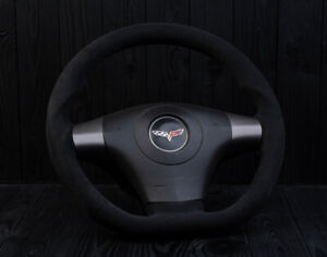 Corvette C6 Zr1 Custom Steering Wheel Customized 2006 2013 Flat Bottom D Shaped