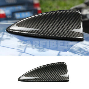 Real Carbon Fiber Car Shark Fin Antenna Cover For Bmw 5 Series E60 E61 2003 2010
