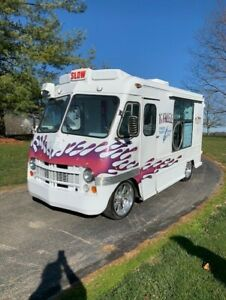 1961 Ice Cream Truck With Matching Concession Trailer Excellent Condition