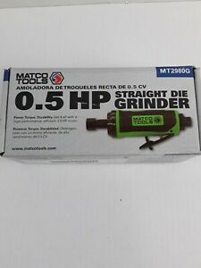 Matco Tools Mt2980g Straight Die Grinder Matco Quality You Trust