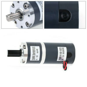 Permanent Magnet Electric Dc Motor 12v 400rpm High Speed For Generator Zgx60rmm