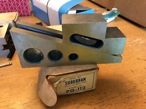 Suburban Tool Pg 112 Planer Gage Machinist Tool In Box Machine Tooling