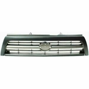 New To1200203 Front Grille Silver Gray For Toyota 4runner 1996 1997 1998
