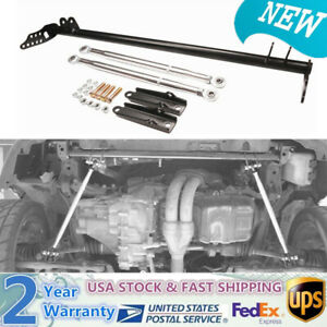 Front Traction Rod Control Tie Bar Kit Fit Honda Civic 92 95 Acura Integra 94 01