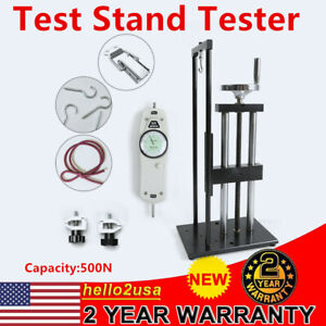 Vertical Screw Test Stand Push pull Type Gauge High Precision 500n Tester Kit Us