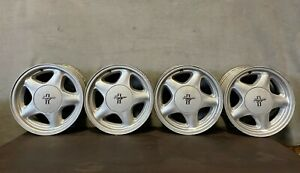 1990 93 Ford Mustang Gt 16 Inch Complete Pony Wheels Rims Center Caps 16x4 Oem