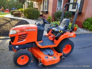 Kubota Bx2350 Tractor Diesel 23hp 4wd 60 Mid Deck Mower Just Serviced 308 Hrs
