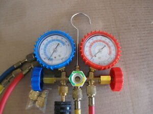 Refrigeration Manifold And Gauges For R410a r22 r404a Flaring Tools And Cutter