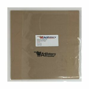 100 Sheets 12 X 12 Natural Kraft Food Paper Liners wrapping Tissue