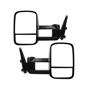 Towing Mirrors For 1999 2007 Chevy Silverado Gmc Sierra 1500 2500 3500 Truck