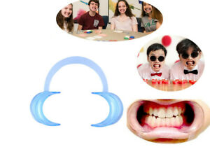 20pcs Teeth Whitening Cheek Retractor Autoclavable Dental Mouth Opener Game