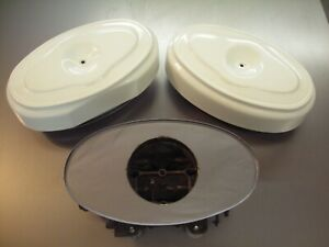 1958 To 1962 Plymouth Dodge Chrysler Dual Quads Carter Oval Air Cleaner Bases