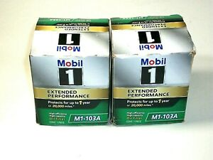 Mobil 1 M1 103a Extended Performance Oil Filter Pack Of 2