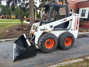 Bobcat 853 H Skid Steer Loader 58hp High Flow Auxiliary New 72 Bucket Serviced