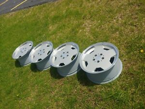 Set Oz Racing 17 Amg Aero 1 Rims 4 Mercedes W126 560 Sec Sel 500sec 500sel