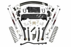 4 5in Jeep Long Arm Suspension Lift Kit 84 01 Xj Cherokee