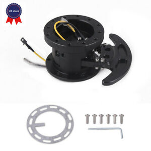 Steering Wheel Quick Release Hub Kit Adapter Body Removable Snap Off Boss Kit