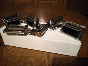 Vintage Gm Chevy Accessories Rear Ashtrays 1969 To 1972 4 Complete 2 Lid Are New